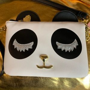 BETSY JOHNSON Panda Purse.🐼